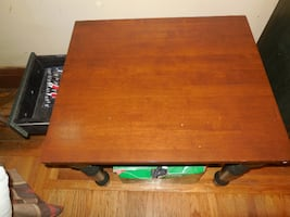 Table and mini dresser