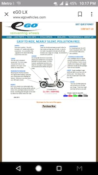 Never buy gas again for your moped time to go electric Norfolk, 23505