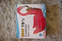 Large inflatable flamingo pool floaty Paris, 75012