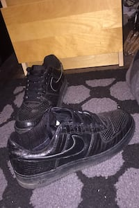 Black Nike Air Forces  Edmonton, T5L 3Z9