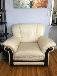 white and brown glider chair New York, 11378
