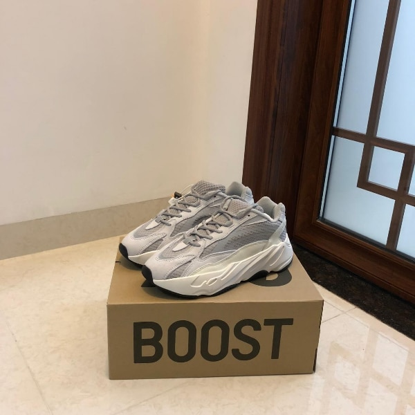 5f0cf8fda Used white and black Adidas low top sneakers on box for sale in New ...
