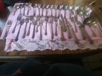 1847 rogers bros IS spoon and fork set 448 mi
