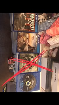 PS4 games $10 EACH Bakersfield, 93307