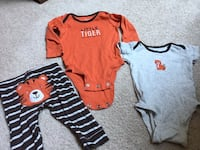 Cute baby outfits! size 3 months Falls Church