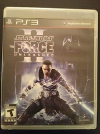 PS3 Star Wars the Force Unleashed 2  Vaughan, L4L