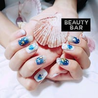 Gelish nail art  Singapore, 160110