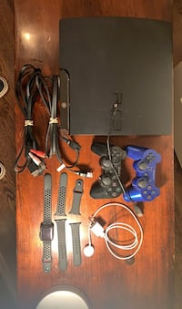 PS3 w/ everything + 2 controllers/ APPLE WATCH SERIES 3 + sport band. Chevy Chase View, 20895