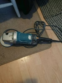 blue and gray corded angle grinder Edmonton, T5H 2W3