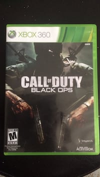 Call of Duty Black Ops Xbox 360 game case Knoxville, 37923