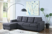 BRAND NEW 2 PC FABRIC SECTIONAL TORONTO
