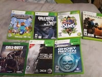 Xbox 360 games and 1 Xbox one game Redcliff, T0J 2P2