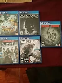 Ps4 games Los Fresnos, 78566