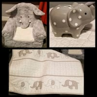 white and gray elephant items London, N6M 1L9