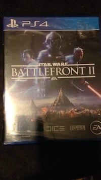 PS4 Battlefront ll Starwars) unopened  Pearl, 39208