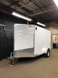 2020 CTC 6x10 V-Nose Cargo Trailer Kitchener