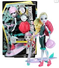 Monster high Lagoona  doll