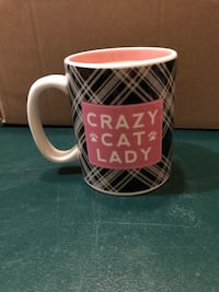 "Large ""Crazy Cat Lady* coffee mug Spencerport, 14559"