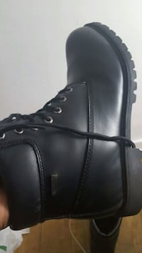 black leather side-zip boot Halifax, B3H 4R2