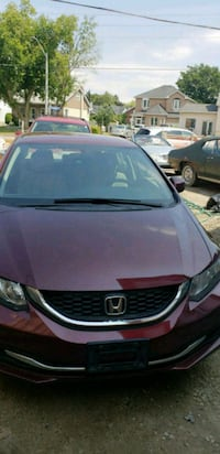 Honda - Civic - 2013 comes safety 17000 km Mississauga