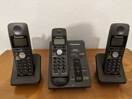 Panasonic Cordless Phone and Two Extensions