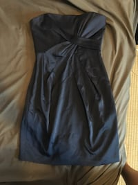 BCBG navy blue cocktail dress size 4 Toronto, M3J 3T6