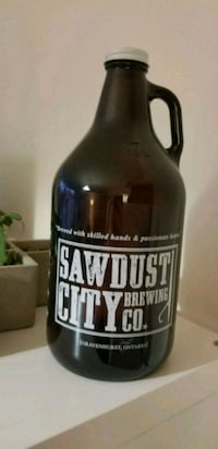 Empty Growler - used for decorative piece  Toronto, M4E 2N8