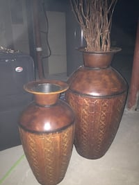 Decorative planters/urns.. Vaughan
