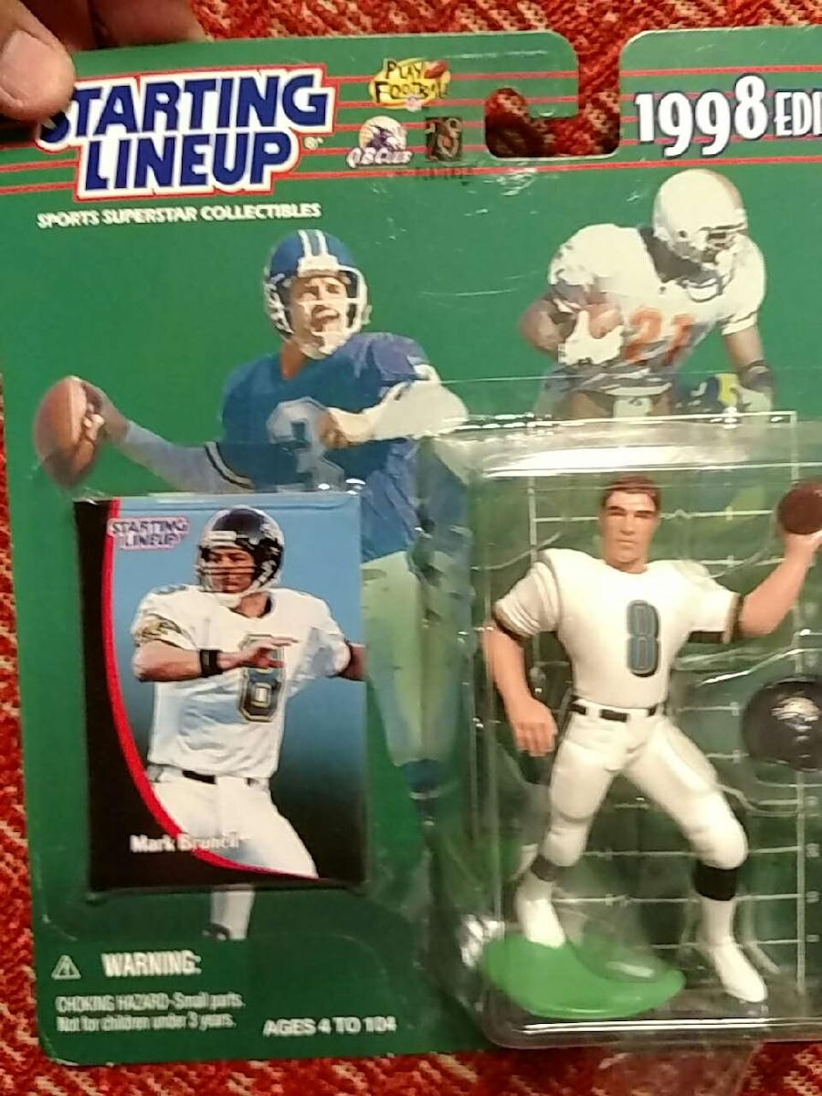 Starting Lineup Mark Brunell 1998 action figure