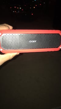 black and red Bluetooth speaker Lanham, 20706