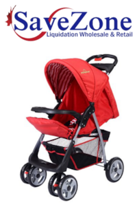 New- Foldable Baby Kids Travel Stroller Newborn Infant Buggy Pushchair Child Red