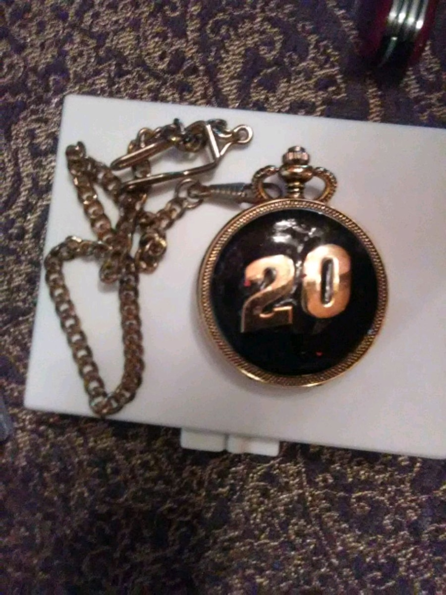 Photo Tony Stewart pocket watch
