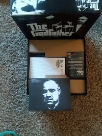 The Godfather book in box