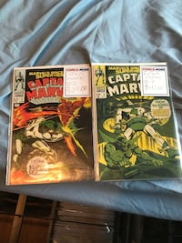 Captain marvel 2-3 comics Mineola, 11501