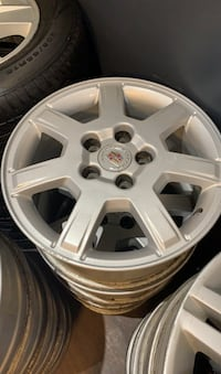 Cadillac 16 inch rims amazing condition!