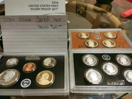 2014 silver proof sets