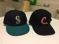 Fitted STL Cardinals & Mariners hats Columbia, 65201