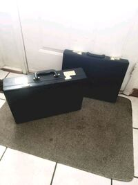 New Black leather briefcases (never used) Toronto, M1B 4B3