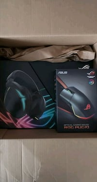 BNIOB ASUS ROG FUSION 500 HEADSET AND MOUSE COMBO 100.00 OFF  White Rock