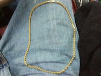 gold chain-link necklace DeFuniak Springs