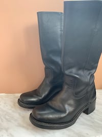 Boots - Black Leather