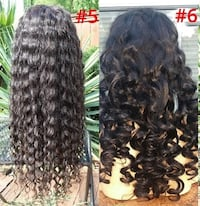 $200 Two New 100% Human Hair Lace Top Wigs (s5,6) Lanham