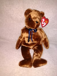 Ted-e Beanie Baby Old Face