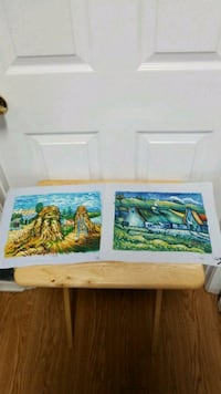 """Paintings 13""""x11"""" Van Gogh style x2 for $6 Mobile, 36695"""