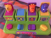 green, yellow, and purple educational toy Granby, J2G