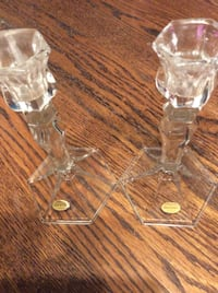 JUST REDUCED medium candle stick holders  Rockville