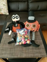 Halloween dolls and small dolls for Xmas decorations. McLean, 22102