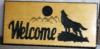 Wolf welcome plaque  Mississauga, L5N 3A8