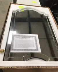 Bassett Arch/Crowned Top Wall Mirror