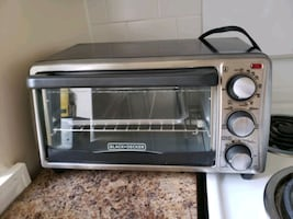 Black and decker toaster counter top oven